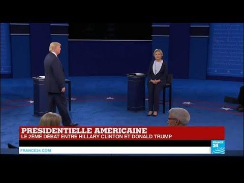 Débat US : Après les insultes, Donald Trump et Hillary Clinton échangent.... des compliments !