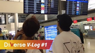 D1Verse V-Log|Vietnamese idol trainees come to South Korea|#1