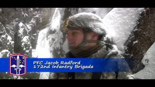 TV News story about 172nd training with Slovenian Armed Forces at Mountain Warfare