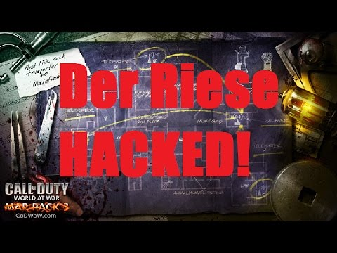 HACKED Zombies: Der Riese Call Of Duty World At War Lobby