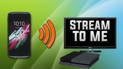 How to Stream Movies from Android to PS4! (FREE) 2018!
