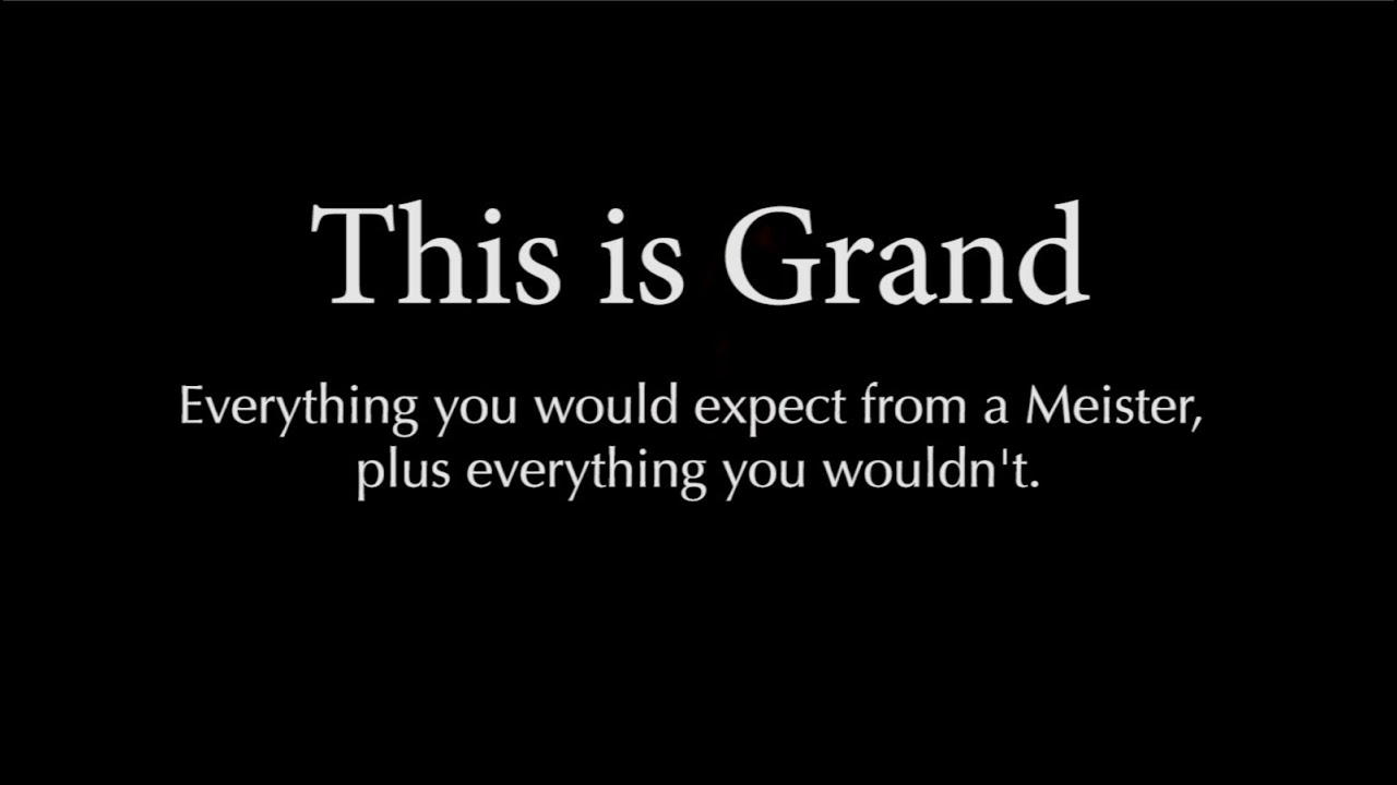 This is Grand  | Hughes & Kettner | GrandMeister 36