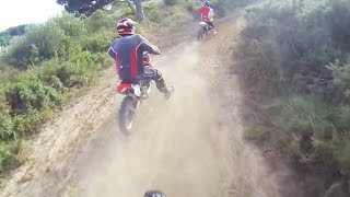 Pit Bike YX140 + RM 250 and CR 85