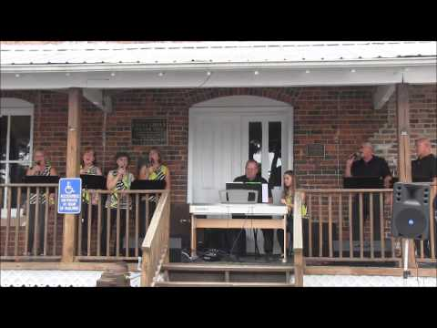 Efird Family Singers   2014 09 14 at China Grove Roller Mill