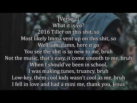 Bryson Tiller - Before You Judge (Lyrics)