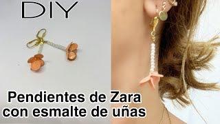 DIY Como hacer PENDIENTES inspiración ZARA /Tendencias 2019
