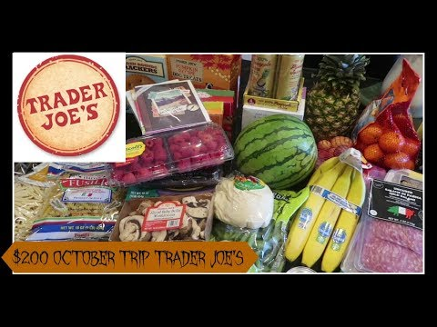 $200 Monthly Haul to Trader Joe's | My second highest trip to my favorite store!