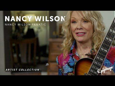 Epiphone   Nancy Wilson Fanatic
