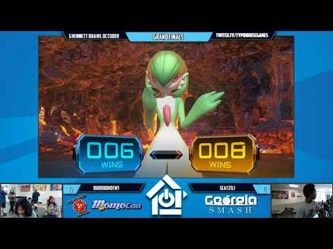 Gwinnett Brawl October 2017 - Ouroboro vs Scatz - Pokken DX Grand Finals