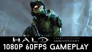 Halo Combat Evolved Anniversary 1080p 60FPS Gameplay (Halo Master Chief Collection)