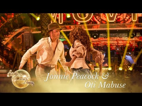 Jonnie & Oti Paso Doble to 'The Raiders March' - Strictly Come Dancing 2017