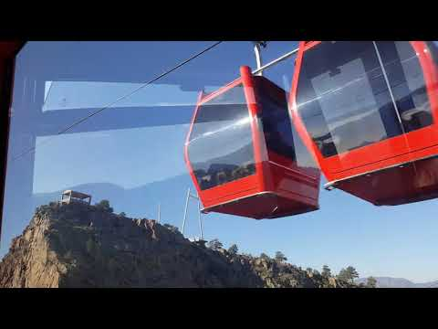 Royal Gorge Colorado Cable Car Tram - October 2017 (East to West Crossing)