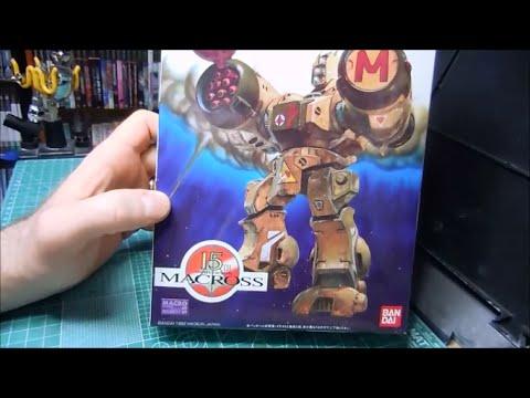 Bandai 1:100 Macross Missile Phalanx plamo build 1