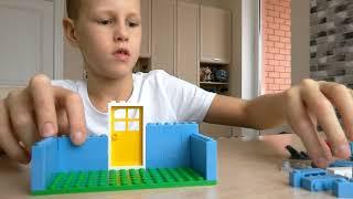 Как сделать из Лего домик