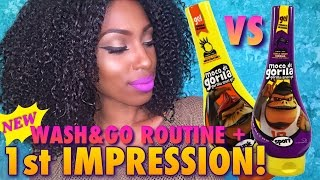Gorilla Snot Gel Natural Hair Wash And Go Update