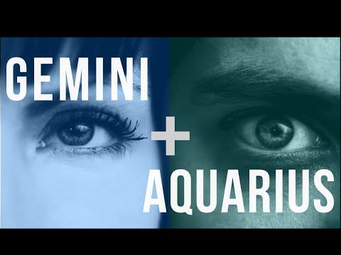 aquarius man dating gemini woman