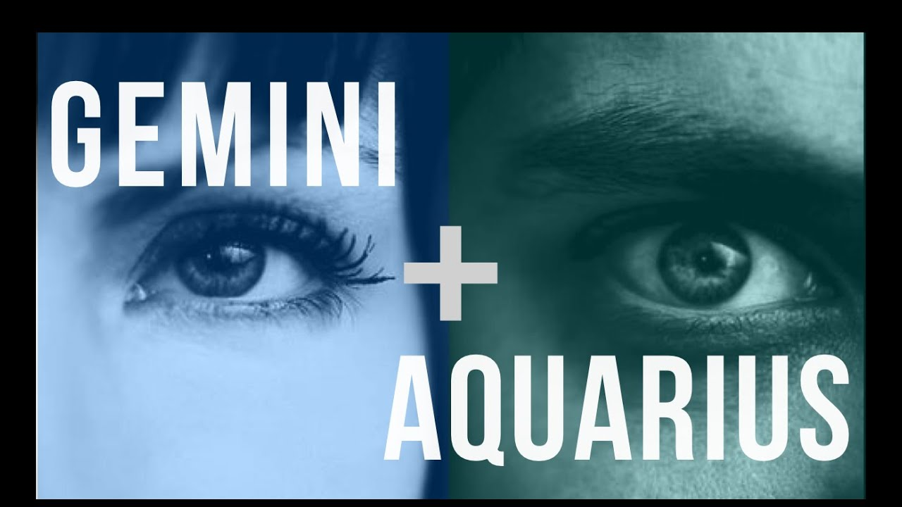 Why Gemini and Aquarius Make a Steamy Match | PairedLife
