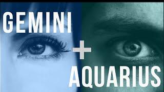 Gemini & Aquarius: Love Compatibility