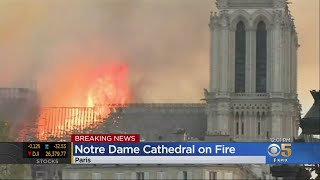 Notre Dame Cathedral in Paris Burns in Catastrophic Fire