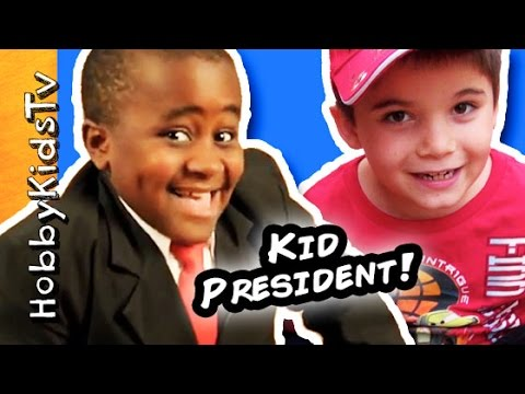 HobbyKid Handmade Awards! Kid President's 82 Guide to Being Awesome in Book by SoulPancake