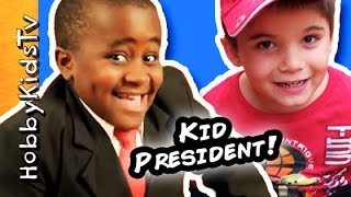 Repeat youtube video HobbyKid Handmade Awards! Kid President's 82 Guide to Being Awesome in Book by SoulPancake