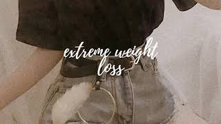 extreme weight loss subliminal