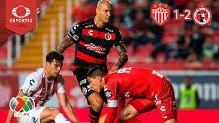 Resumen Necaxa 1 - 2 Tijuana | Clausura 2019 - Jornada 8 | Televisa Deportes