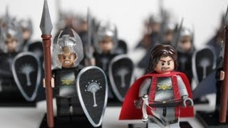 Here's my Lego Lord of the Rings - Gondor Last Alliance Army. The h...