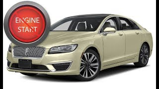 Lincoln MKZ: Open and start push-button start newer models with a dead key fob battery. MP3