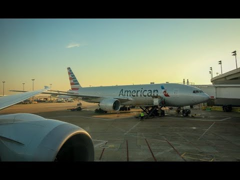 American Airlines 71 Pushback, Taxi, and Takeoff DFW | Boeing 787-800