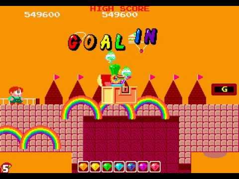 Rainbow Islands Longplay (Arcade) [All Secret Rooms]