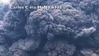 извержение вулкана индонезия
