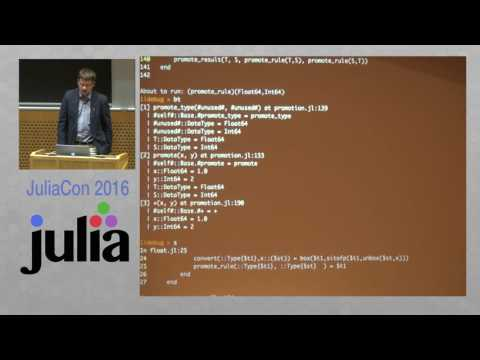 JuliaCon 2016 | Gallium - The Julia Debugger | Keno Fischer ...