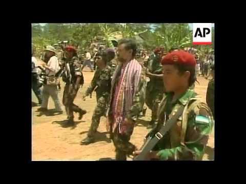 EAST TIMOR: GUSMAO RETURNS TO REMEXIO