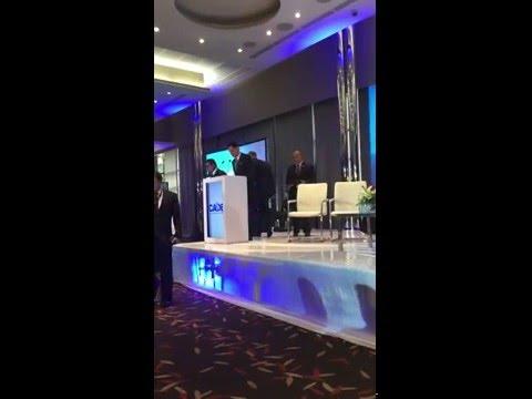 Saul Haro CEO de Macrolynk presente en el CADE PANAMA, abril 2016