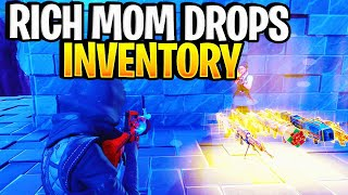 Rich mom drops scammers whole inventory!🤣 (Scammer Gets Scammed) Fortnite Save The World