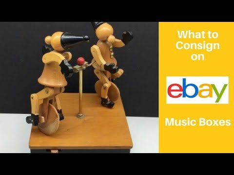 What to Consign on eBay - Vintage Music Boxes