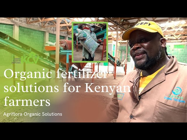 Agriflora Solutions: Organic fertilizer options for Kenyan farmers.