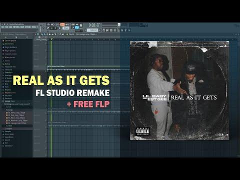 Lil Baby – Real As It Gets ft. EST Gee (Instrumental) + Free FLP Remake