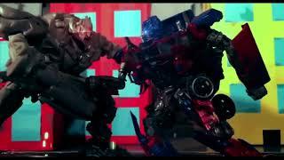 Transformers Studio series Optimus prime vs Megatron / Age of Swagwave Stop motion