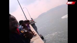Penunggang Motosikal Terjun Dari Jambatan Pulau Pinang