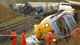 Dangerous Train/ Train Crashing/ Train Hit Truck / Train Hit Animal 2021