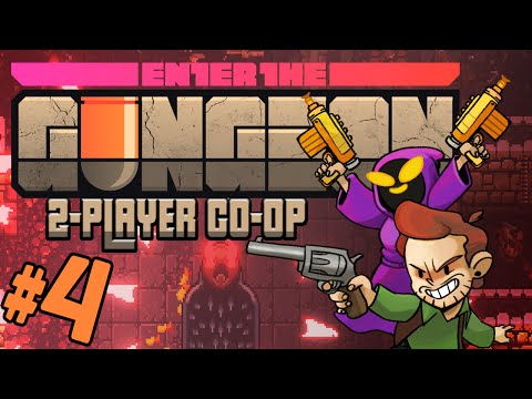 Enter the Gungeon - #4 - The Convict (Gungeon 2-player Co-op Gameplay)