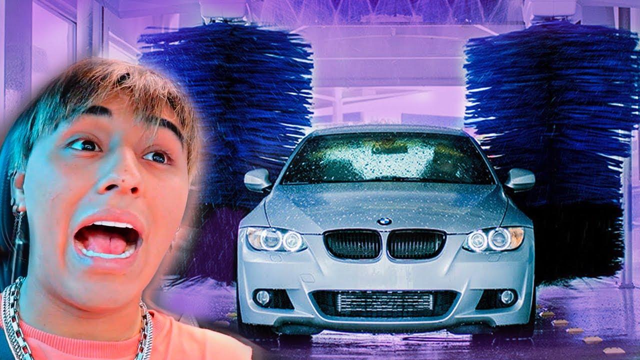 Lavo mi carro EN UN TUNEL Y ESTO PASÓ | Soy Fredy