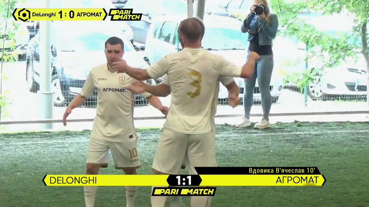 Огляд матчу | DeLonghi 1 : 3 АГРОМАТ