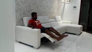 Sectional zero wall recliner sofa manufacturers