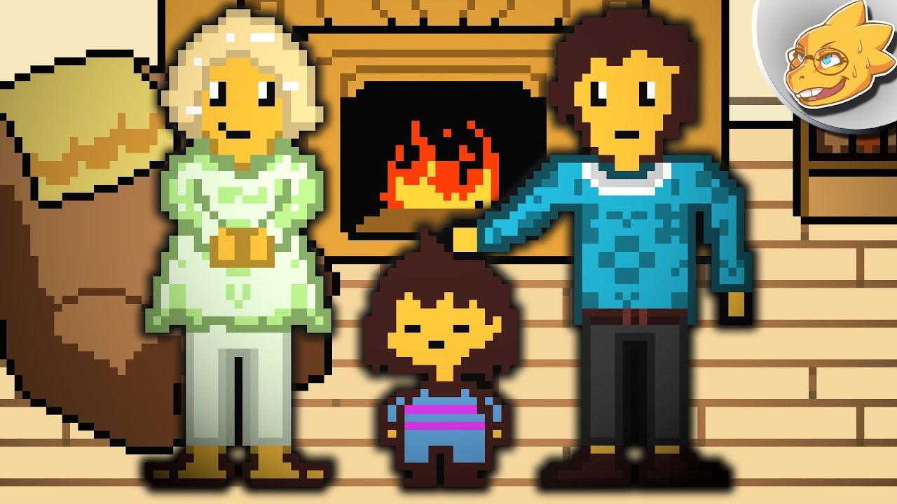 Where Did Frisk Come From? The Human's Origin Story | Undertale Theory |  UNDERLAB