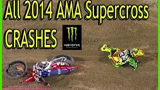Download Video All 2014 AMA Supercross CRASHES MP3 3GP MP4