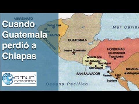 Cuando Guatemala perdi a Chiapas