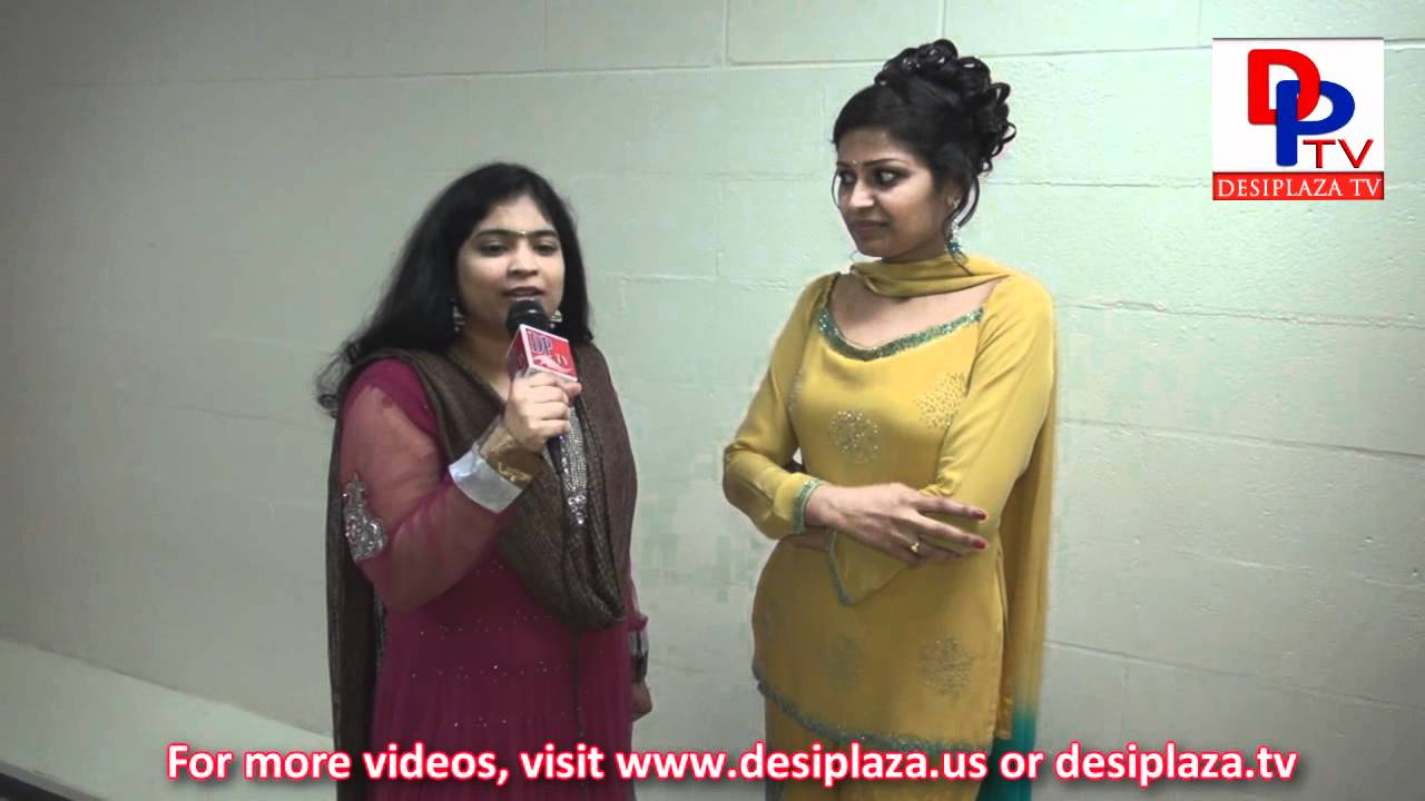 Usha (Playback Singer) Speaking to Desiplaza TV at RadioKhushi Telugu  Mahila Sambaralu - 2012